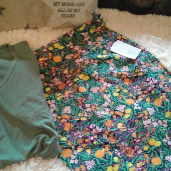 LuLaRoe Dresses & Skirts - 💚🌻GORGEOUS FLOWERY CASSIE PENCIL SKIRT🌻💚